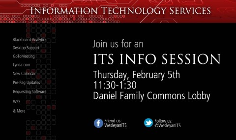 Info Session Ad image