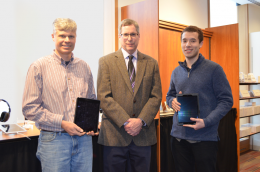iPad winners with Dave